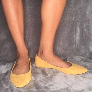 Wet Seal Soft Pointed Toe Ballerina Flats